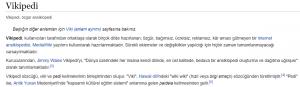 Vikipedia'nın Bağlantı Kullanımı
